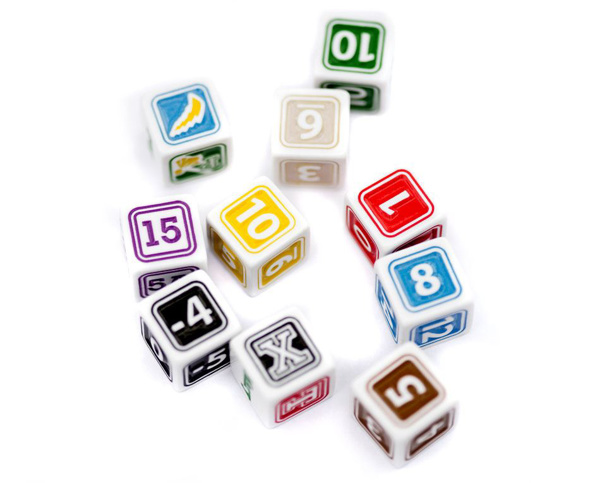 Picture of 1st & Goal® Deluxe Preprinted Dice Basic Team
