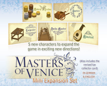 Picture of Masters of Venice® Expansion Set