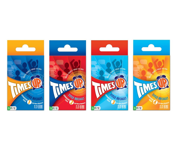 Picture of Time's UP!® Title Recall Expansions Full Set