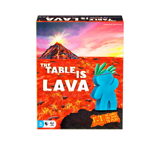 Picture of The Table is Lava